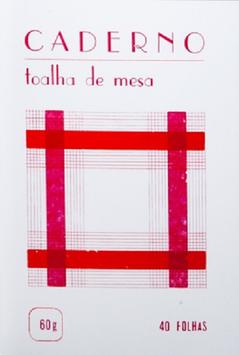 Notizheft Toalha de Mesa