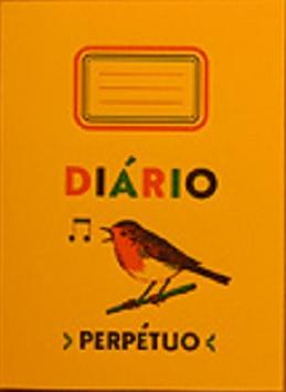 Notizheft Diário Perpétuo (gelb)