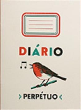 Notizheft Diário Perpétuo (weiß)