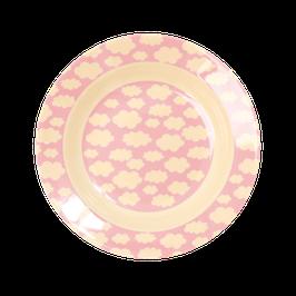 Melamine Kids Plate (tiefer Teller)  - Cloud Print von RICE