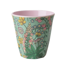 Medium Melamine Cup - Lupin Print von RICE