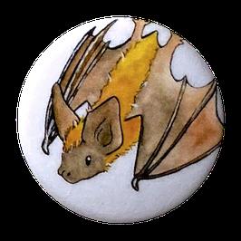 Button: Fledermaus