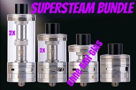 Steam Crave - Aromamizer Plus RDTA Supersteam Bundle