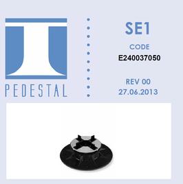 SE1 Stelzlager 37,5-50 mm