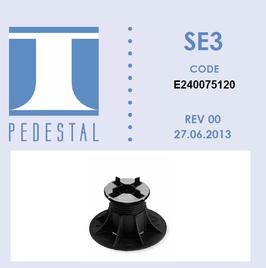 SE3 Stelzlager 75-120mm