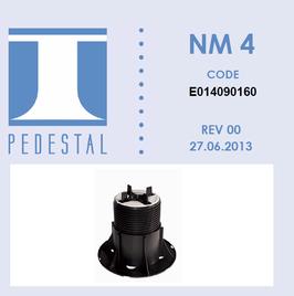 NM4 Stelzlager 90-160mm