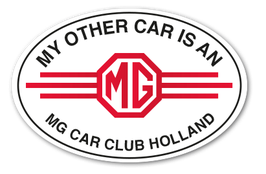my other car is an mg | mgcch