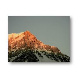 Alpen mit Flugzeug