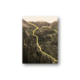 Bergfluss, zwei Farbvarianten
