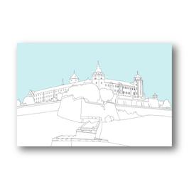Festung Würzburg, zwei Farbvarianten