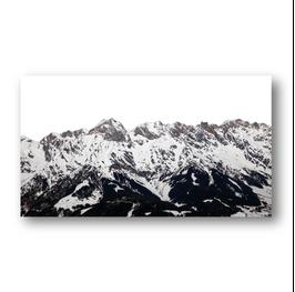 Alpen schwarz weiß