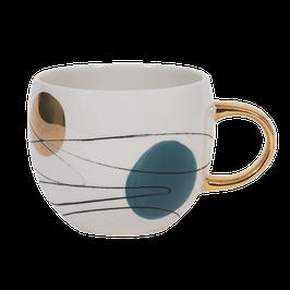 Mug Blue-Gold