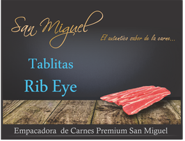 TABLITAS RIB EYE