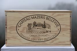 Château Mazeris Bellevue - caisse bois (vide)