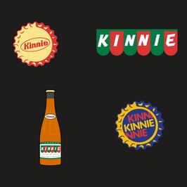 Kinnie Set of 4 Magnets