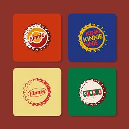 Set of Kinnie Coasters