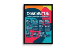 Speak Maltese A2 Poster