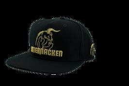 STIERNACKEN - SNAPBACK CAP SCHWARZ/GOLD