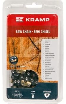 "Catena 3/8"" dente tondo (Semi-Chisel) Low Profile - Kramp"