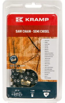 "Catena 3/8"" dente tondo (Semi Chisel) - Kramp"