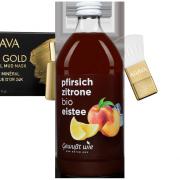 Bio Eistee Pfirsich Zitrone, 500ml