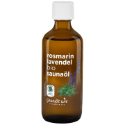 Bio Saunaöl Rosmarin-Lavendel, 100ml
