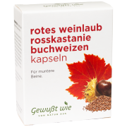 Rotes Weinlaub Rosskastanie Buchweizen, 60 Stück