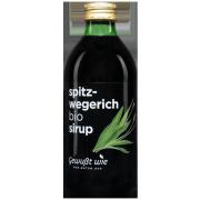 Bio Spitzwegerich Sirup, 330ml