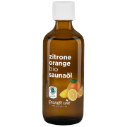 Bio Saunaöl Zitrone-Orange, 100ml
