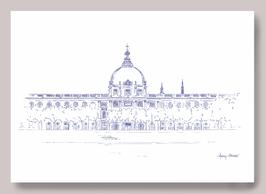 Illustration A3 Grand Hôtel Dieu iconique