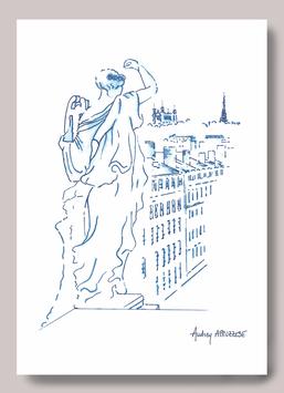 Grande Carte A5 Muses Opéra de Lyon - Fourvière