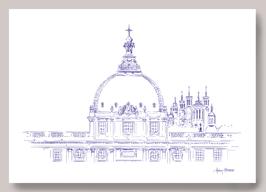 Carte Grand Hôtel Dieu vue fourvière