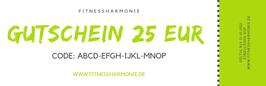 Gutschein im Wert von EUR 25,00