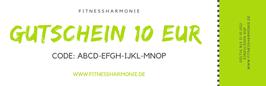 Gutschein im Wert von EUR 10,00