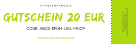 Gutschein im Wert von EUR 20,00