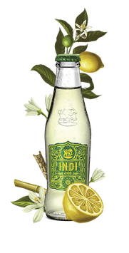 Indi Lemon Premium Tonic