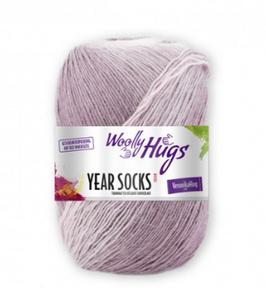 "Sockenwolle Year Socks (Woolly Hugs) 100g ""Januar 001"""