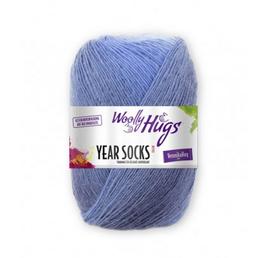"Sockenwolle Year Socks (Woolly Hugs) 100g ""Juli007"""