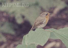 Naturkarte - KEEP SMILING