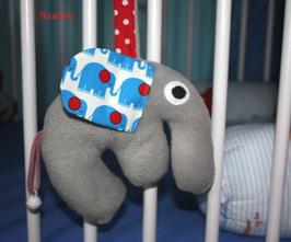 ♥ Kinderwagenanhänger Elefant Otto N0060 ♥