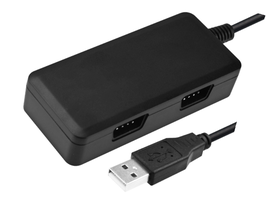ADATTATORE CONVERTITORE DOPPIO JOYSTICK DB9/USB ( ATARI, AMIGA, C64, MEGADRIVE ... ) PER REWIND32