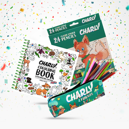 CHARLY'S COLOURING BOOK – LUXEMBOURG EDITION (BILINGUAL LUX & EN)