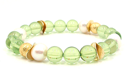 Karibischer Bernstein Armband Perle