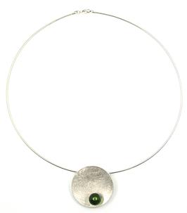 Karibischer Bernstein Kette Silber 925