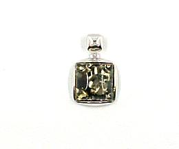 Bernstein Anhänger Silber 925