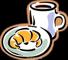 Samstagmorgen-Frühstücks-Buffet