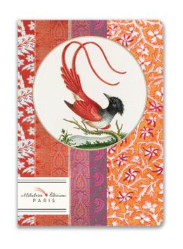 Carnet L'oiseau rouge Alibabette Paris