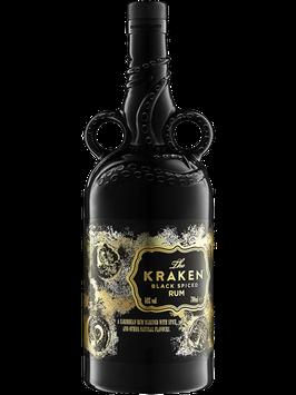 THE KRAKEN BLACK UNKNOWN DEEP RUM  0,7L (40% VOL.)