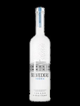 BELVEDERE VODKA 6,0 LITER MED LED LYS