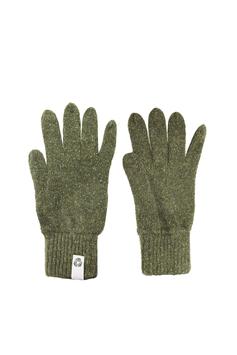 Guanti – lana rigenerata: Verde Chiaro